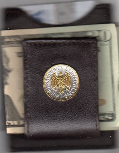 Gorgeous 2-Toned Gold On Silver German Eagle, Coin - (Folding) Money Clips