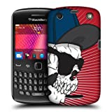 Head Case Swagger Guy Skull Showdown Back Case Cover For Blackberry Curve 9360