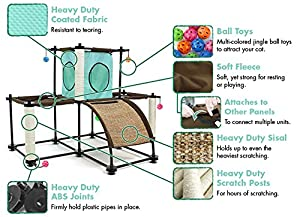 Kitty City Kitty City Steel Claw Starter Kit Cat Furniture