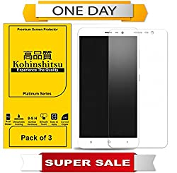 Screen Protector for Redmi Note 3 - Kohinshitsu Tempered Glass Screen Guard for Redmi Note 3 / Mi Note 3 / Xiaomi Note 3 (Pack of 3, Premium Series)