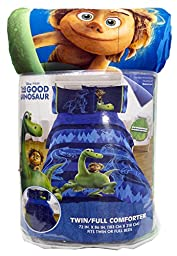 Disney/Pixar The Good Dinosaur \'Carnivore\' Microfiber 3 Piece Twin Sheet Set