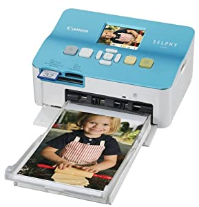 Canon Selphy CP780 Blue Compact Photo Printer