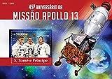St Thomas - 2015 Apollo 13 - Stamp Souvenir Sheet - ST15316b