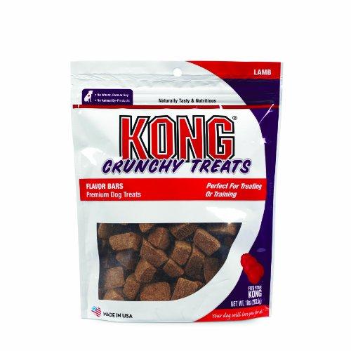 Kong Premium Treats Crunchy Flavor Bars, Lamb