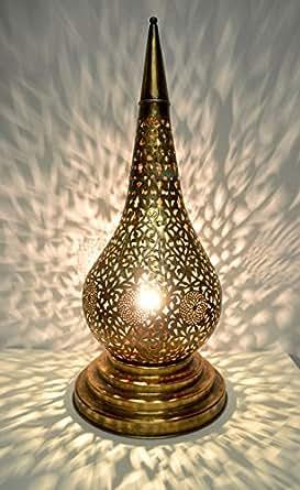 XLarge Tear Drop Shape Large Moroccan Solid Antique Brass ...