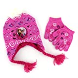 Frozen Elsa and Anna Toddler Laplander Hat with Gloves