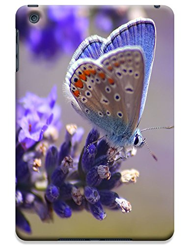 Fantastic Faye Cell Phone Cases For Ipad Mini No.14 The Beautiful Design With Colorful Butterfly Fly On The Leaves Or Flowers