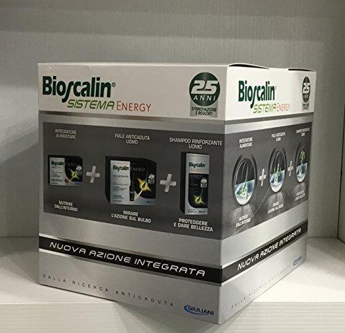 BIOSCALIN SISTEMA ENERGY compresse+fiale+shampoo EDIZIONE LIMITATA
