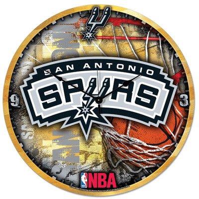 NBA San Antonio Spurs 18-Inch High Definition Clock