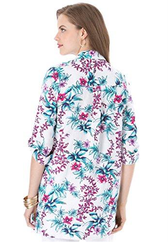 34f1bbd3c2d46 Jessica London Women s Plus Size Jessica London Linen Bigshirt