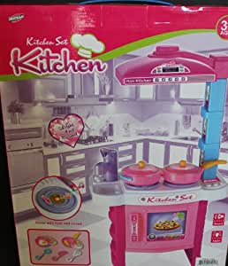 Hunson mini kitchen set toys games for Kitchen set games