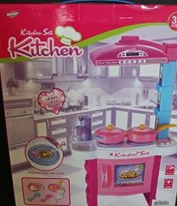 Hunson mini kitchen set toys games for Kitchen set games