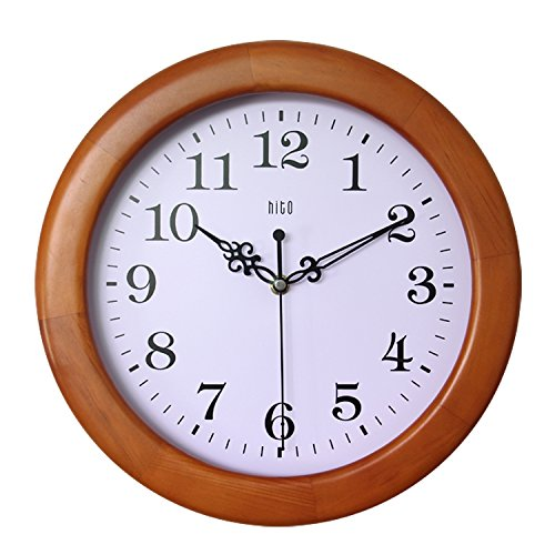 hito-12-inches-silent-non-ticking-wall-clock-w-wood-frame-and-acrylic-front-cover-light-wood-frame-a