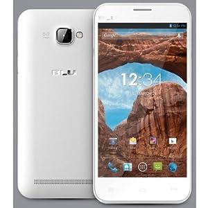 BLU Dash 5.0 D410a Unlocked Dual SIM  GSM Phone (White)