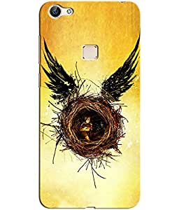 Clarks Printed Back Cover/Case For Vivo X6