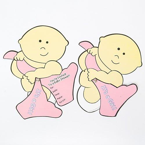Baby Bliss Girl Baby Shower Invitations - 1