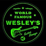 4x ccpf0175-g WESLEY'S Guitar Lounge Bar Beer Etche