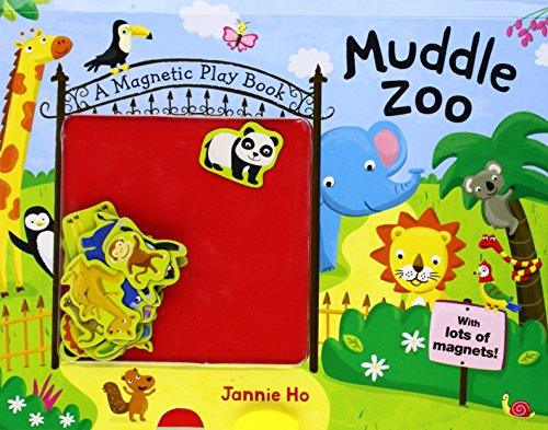 Muddle Zoo: A Magnetic Play Book [With 17 Animal Magnets] (Muddle Books)