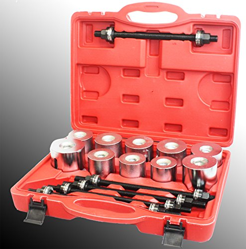 27pc Universal Press & Pull Sleeve Kit Bush Bearing Removal Insertion Tool Set (Press Kit compare prices)
