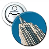Empire State Building New York City Bottle Opener Fridge Magnet