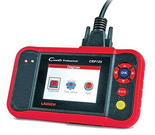 Launch X431 CRP129 ENG/AT/ABS/SRS EPB SAS Oil Service Light resets Code Reader