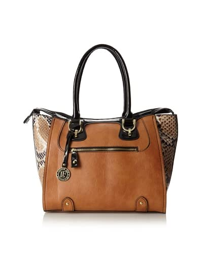 London Fog Women's Sullivan Tote Bag  [Cognac]