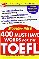 400 Must-Have Words for the TOEFL Front Cover