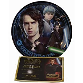 Star Wars Limited Edition Collector Plates - Anakin Skywalker