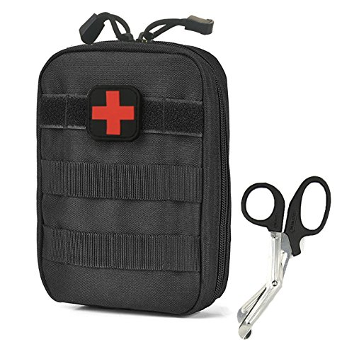EMT-Pouch-Compact-Tactical-MOLLE-Medical-Utility-bag-900D-Free-Bonus-First-Aid-Patch-And-Shear