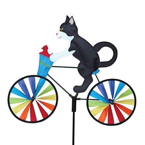 """20"""" Tuxedo Cat Bike Spinner"""
