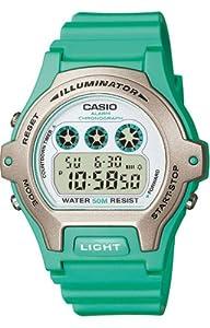 Casio Unisex LW202H-3AVCF Classic Aqua Dial Watch