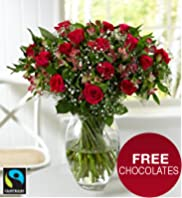 Fairtrade® Rose & Alstroemeria Bouquet