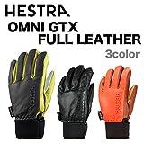 HESTRA(ヘストラ) ヘストラ スキーグローブ ゴアテックス OMNI GTX FULL LEATHER BLACK(31910100100)15-1...