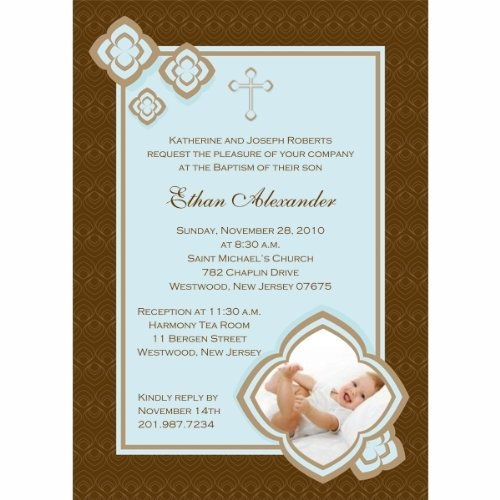 Baptism Invitations Photo front-274188