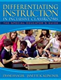 img - for Differentiating Instruction in Inclusive Classrooms: The Special Educator's Guide by Diane S. Haager (2004-09-20) book / textbook / text book