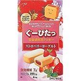 ぐーぴたっ クッキー ストロベリーヨーグルト 3本 (12入り)