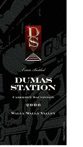 2006 Dumas Station Estate Cabernet Sauvignon Walla Walla Valley 750 Ml