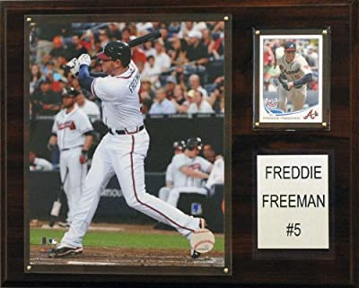 MLB Atlanta Braves Freddie Freeman Player Plaque