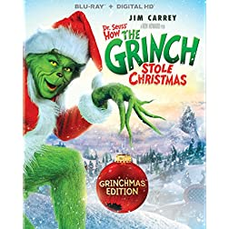 Dr. Seuss' How The Grinch Stole Christmas - Grinchmas Edition [Blu-ray]
