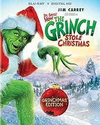 Dr. Seuss\' How The Grinch Stole Christmas - Grinchmas Edition (Blu-ray + DIGITAL HD)
