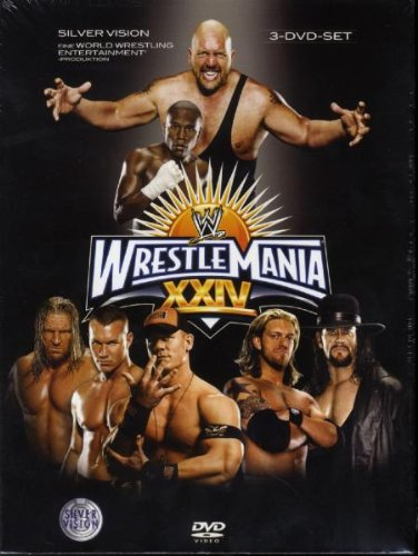 WWE - Wrestlemania 24 (3 DVDs)