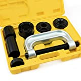 XtremepowerUS 4-in-1 Ball Joint Service Auto Tool Set 2WD & 4WD Auto Repair Remover Installer Extractor Removal Mechanic Tool Kit