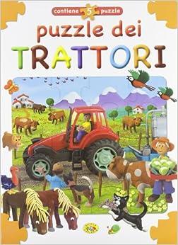 Puzzle dei trattori: aa vv: 9788861773431: Amazon.com: Books