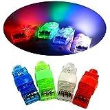 Cade Super Bright Finger Flashlights - LED Finger Lamps - Rave Finger Lights, Pack of 40