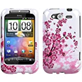 Design Hard Protector Skin Cover Cell Phone Case for HTC Wildfire S T-Mobile - Spring Flowers