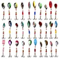 APG Lot 30pcs Kinds of Fishing Lures Crankbaits Hooks Spinner Baits Assorted Tackle