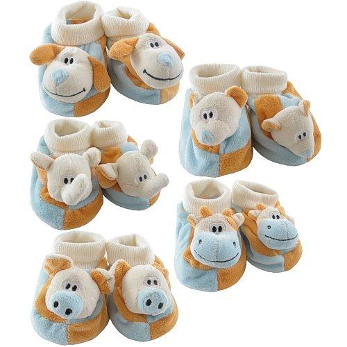 3D Animal Friends Velour Booties - Buy 3D Animal Friends Velour Booties - Purchase 3D Animal Friends Velour Booties (Luvable Friends, Luvable Friends Apparel, Luvable Friends Toddler Girls Apparel, Apparel, Departments, Kids & Baby, Infants & Toddlers, Girls, Underwear & Socks)