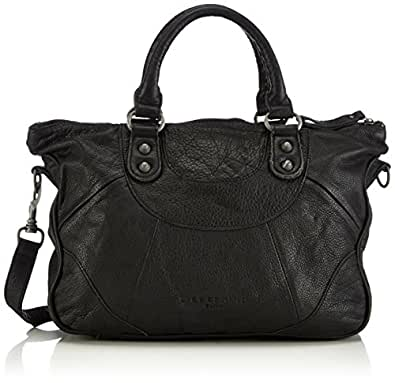 liebeskind women 39 s esther fringe satchel black one size. Black Bedroom Furniture Sets. Home Design Ideas