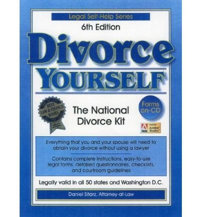 Divorce Yourself: The National No-Fault No-Lawyer Divorce Handbook (Legal Self-Help Series)