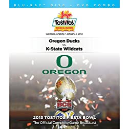 2013 Tostitos Fiesta Bowl [DVD/Blu-ray Combo]